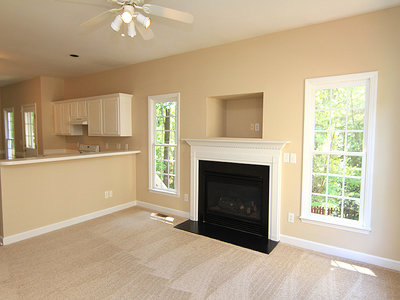 Interior painting project in Raleigh, NC