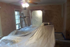 Raleigh interior painter prep