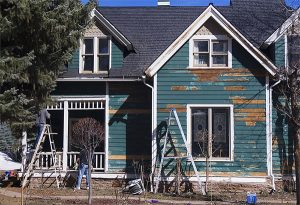 House Paint Scraping