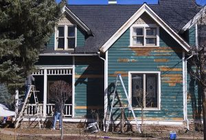 steps to prepping a house for painting